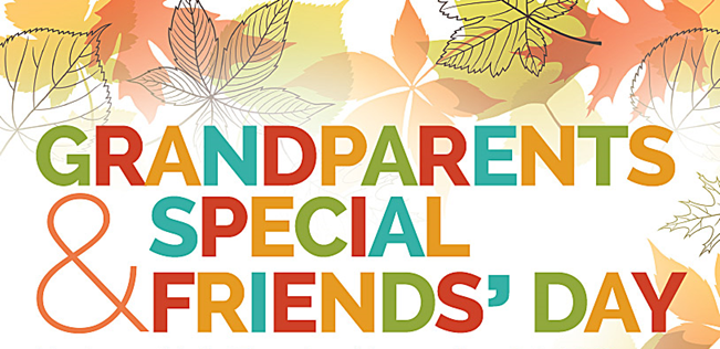 Grandparents and Special Friends Day | December 7