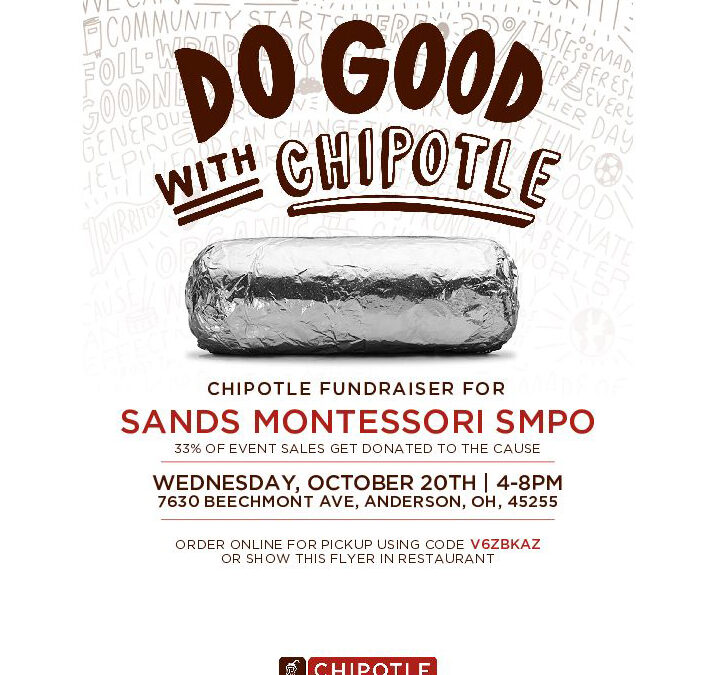 Chipotle Fundraiser – Wednesday, October 20, 2021